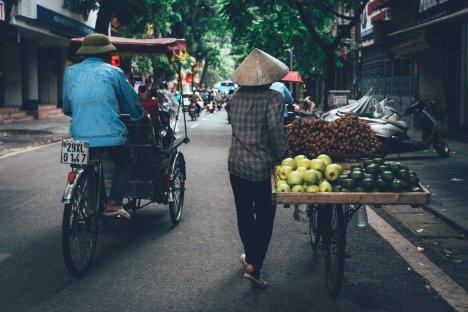 Rikscha Tour durch Hanoi
