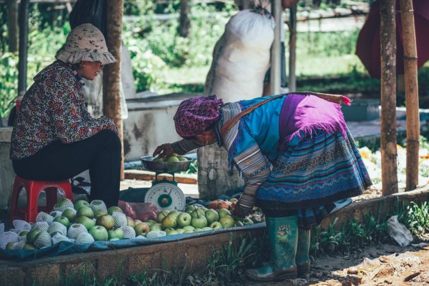 Handel dem Coc Ly Markt