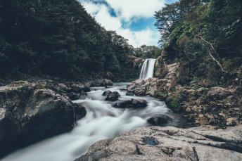 Wasserfall im Tongariro Nationalpark