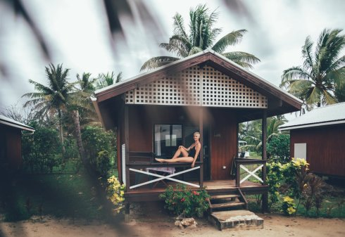 Unser Häuschen im Aitutaki Village