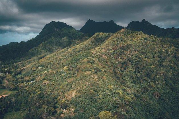 Berge, Dschungel und Strände.