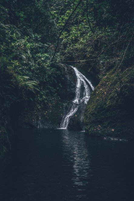 """Der Wasserfall """"Papua Wigmore's"""""""