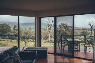 Cottage mit Aussicht ins Grün