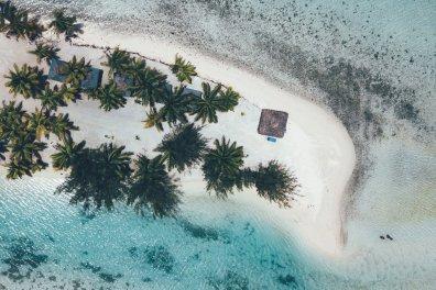 Aitutaki - eine der schönsten Laguenen der Welt
