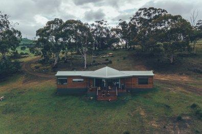Unser Cottage in der Curringa Farm