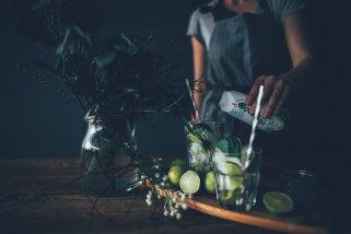 Drink mit Obrigado Kokoswasser