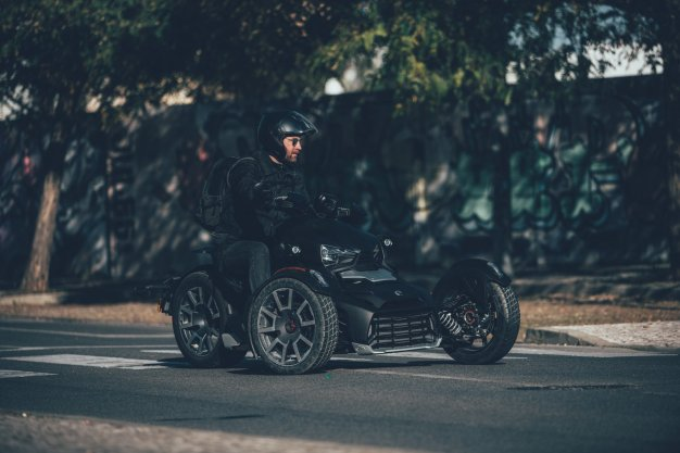 Can-Am Ryker on road