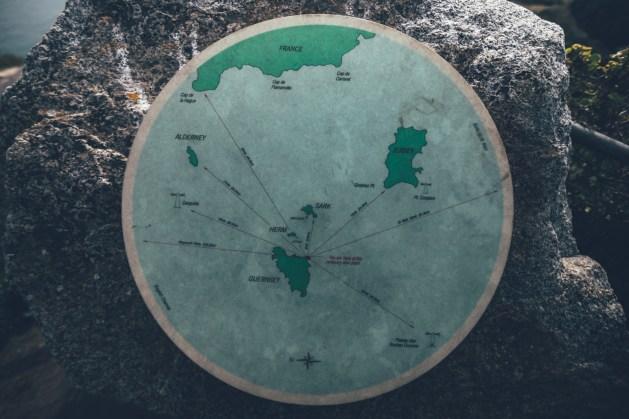 Die Kanalinseln ind er Übersicht