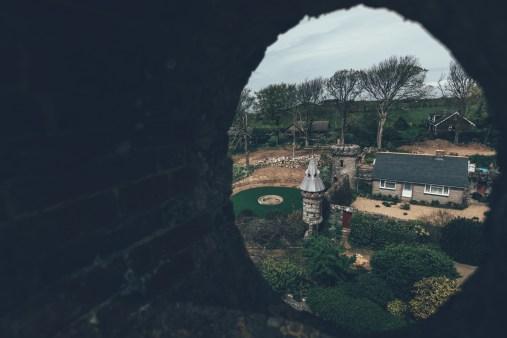 Zu Besuch im Garten des Eigener von Sark