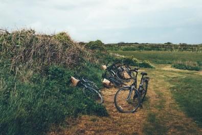 Am besten erkundet man die Insel per Fahrrad