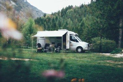 Camping mit dem Hymer ML-T 580 im Soča-Tal