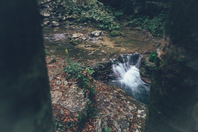 Wandern zum Wanderung zum Slap Kozjak