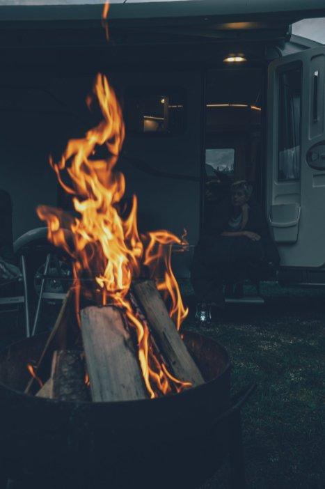Camping im Soča-Tal