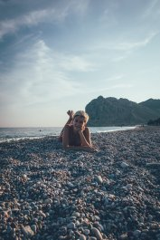 Am Strand des TUI BLUE Atlantica Imperial Resort