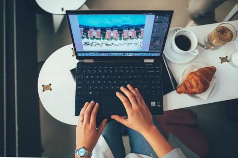 Arbeiten mit HP Spectre x360