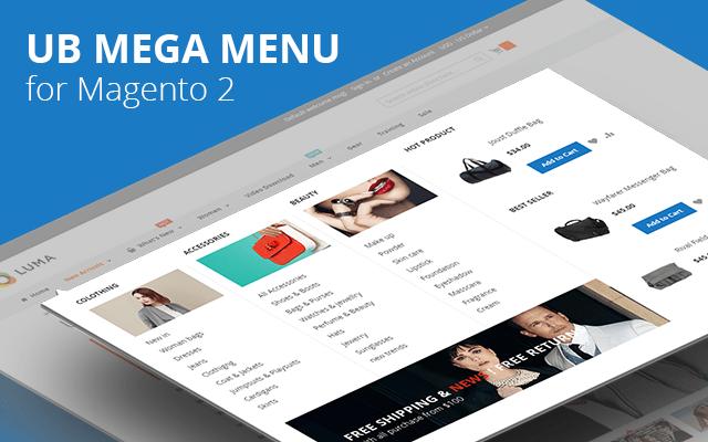 [Magento 2] UB Mega Menu Extension