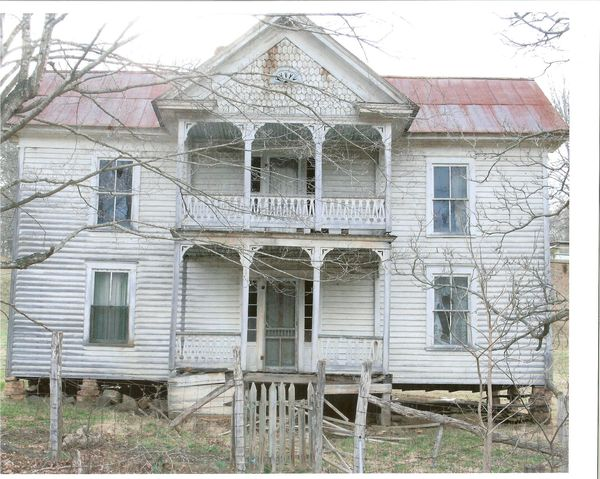 Abandoned Farmhouse By TED KOOSER