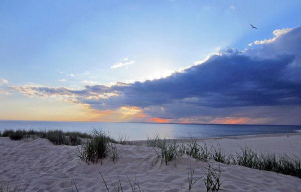 Muskegon Michigan Beach Beauty