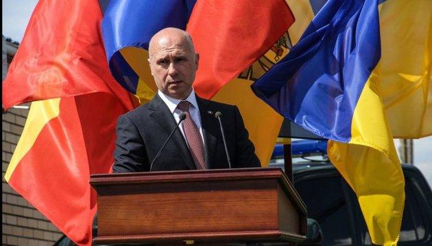Премьер Молдовы требует ускорить создание совместных КПП на границе с Украиной