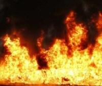 В результате пожара в Красногоровке погибли четверо людей, из них двое - дети