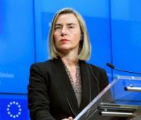 """Могерини уверена, что ЕС отреагирует на российскую """"паспортизацию"""" Донбасса"""