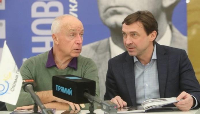 В рамках проекта «Выдающиеся украинцы» презентовали книгу о Лобановском