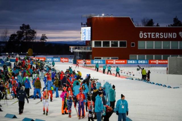Меркушина и Пидручный выступят в последних гонках чемпионата мира по биатлону в Швеции