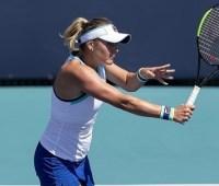 Козлова проиграла белоруске Соболенко во втором круге теннисного турнира в Чарльстоне