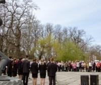 В Днипре почтили память жертв нацистских концлагерей