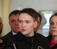 Савченко заявила о своих амбициях: готова возглавить Минобороны или МИД