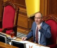 Парубий сказал, когда Рада возьмется за Избирательный кодекс