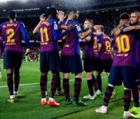 «Барселона» выиграла чемпионат Испании