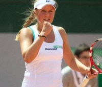 Екатерина Козлова успешно преодолела первый круг турнира WTA в Мадриде