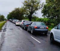 На границе с Венгрией и Польшей образовались пробки