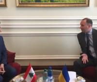 Украина и Ливан договорились ускорить подготовку договоров для сотрудничества в различных сферах