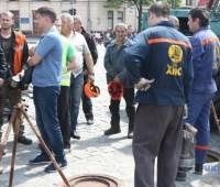 В Харькове проверяют, действительно ли возле волонтерской палатки нужен ремонт