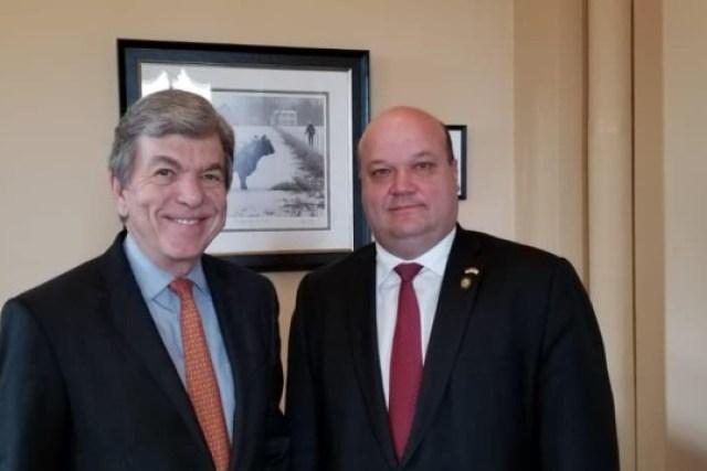 Посол Чалый обсудил увеличение военной поддержки Украины в Сенате США