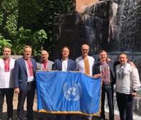 Представительство Украины при ООН присоединилось к празднованию Дня вышиванки