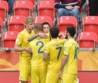 Сборная Украины стала единоличным лидером на юношеском чемпионате мира по футболу