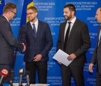 На Днепропетровщине открыли первое Почетное консульство Румынии