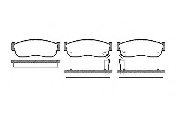 Тормозные колодки на Nissan Sunny (Ниссан Санни) 2, 3, 4