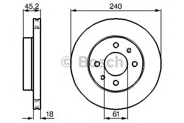 Тормозные диски на Nissan Sunny (Ниссан Санни) 2, 3, 4