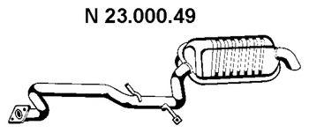 Глушитель на Mercedes S-Class W220 (Мерседес В220) W220