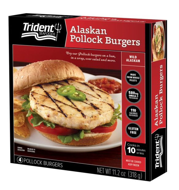 Trident launches Alaska pollock burger with first-ever wellness challenge