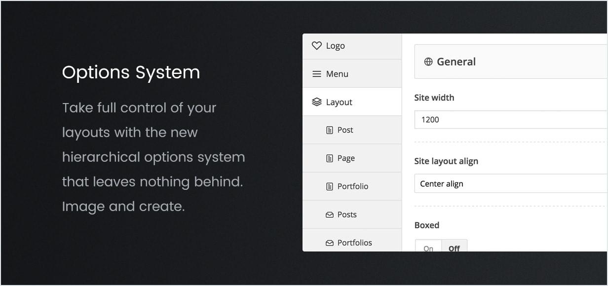 Sistema de Opções