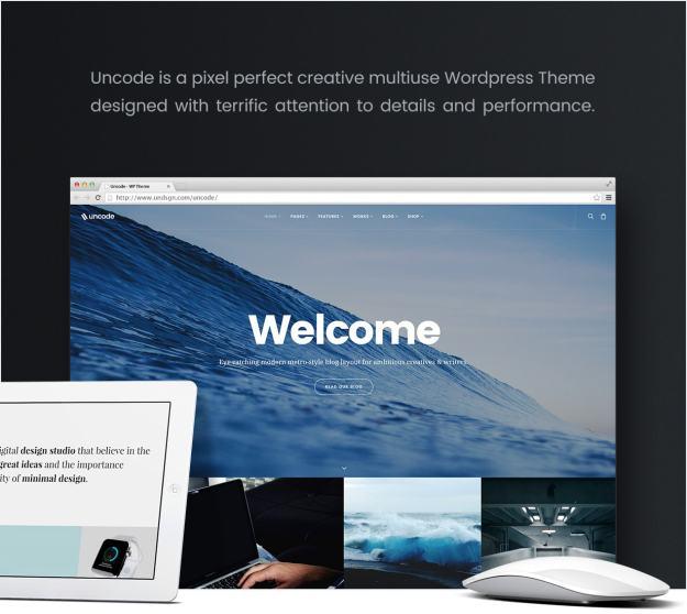 Uncode Creative Multiuse Theme