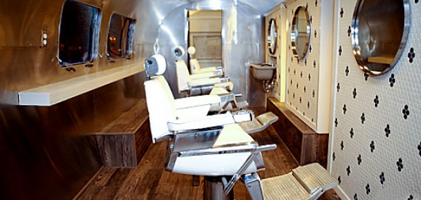 Lord of the Fly  An Airstream Turned Barber Shop
