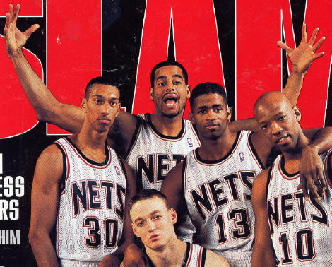 New Jersey Nets  ....Jayson Williams ...........