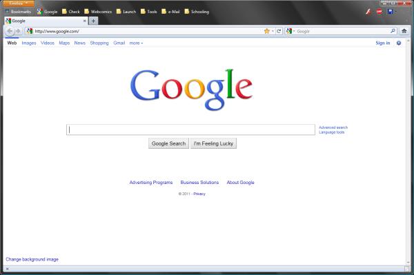 Google Toolbar Missing - Year of Clean Water
