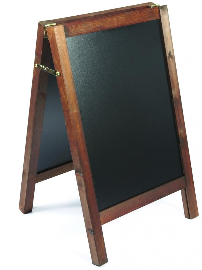 wooden chalk board 585